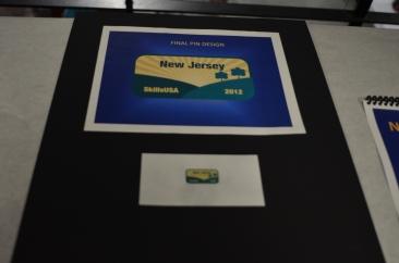 2012 New Jersey Pin