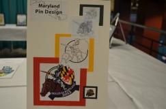 2012 Maryland Pin
