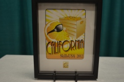 2012 Postsecondary California Pin