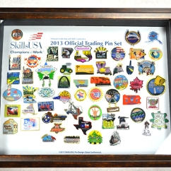 2013 Complete Official Trading Pin Set